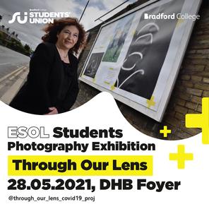 Through our lens esol exhibition social media