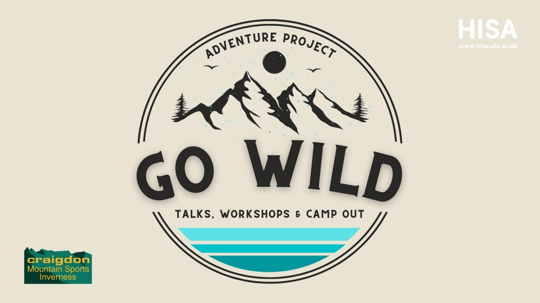 Go wild website banner