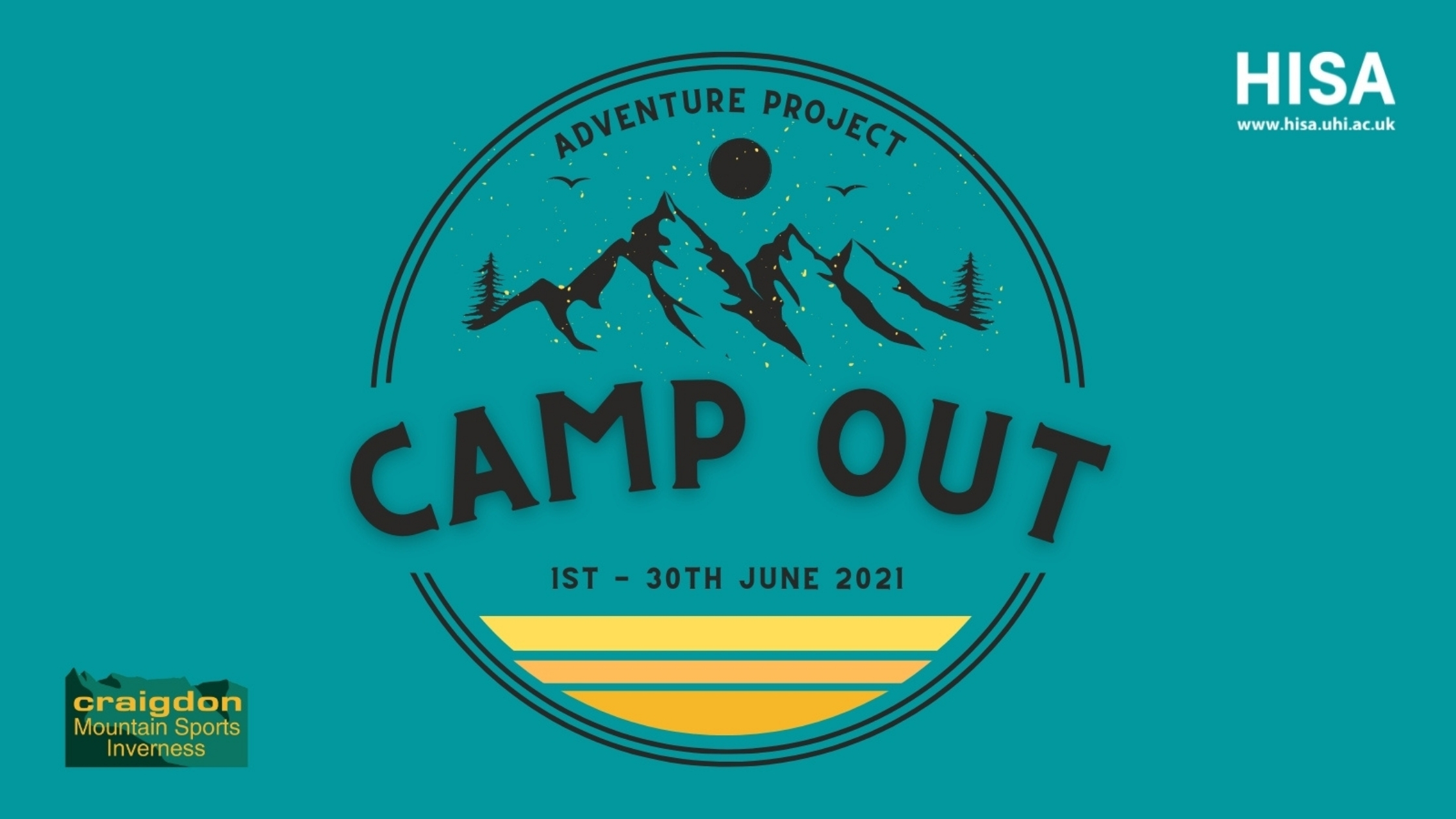 Camp out website banner