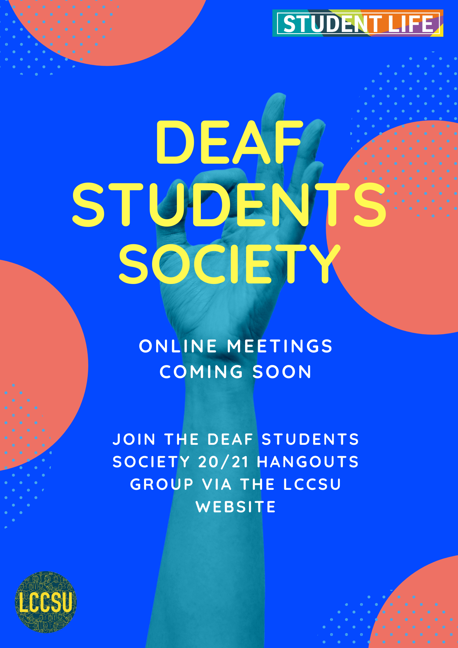 Deaf students soc website term 2