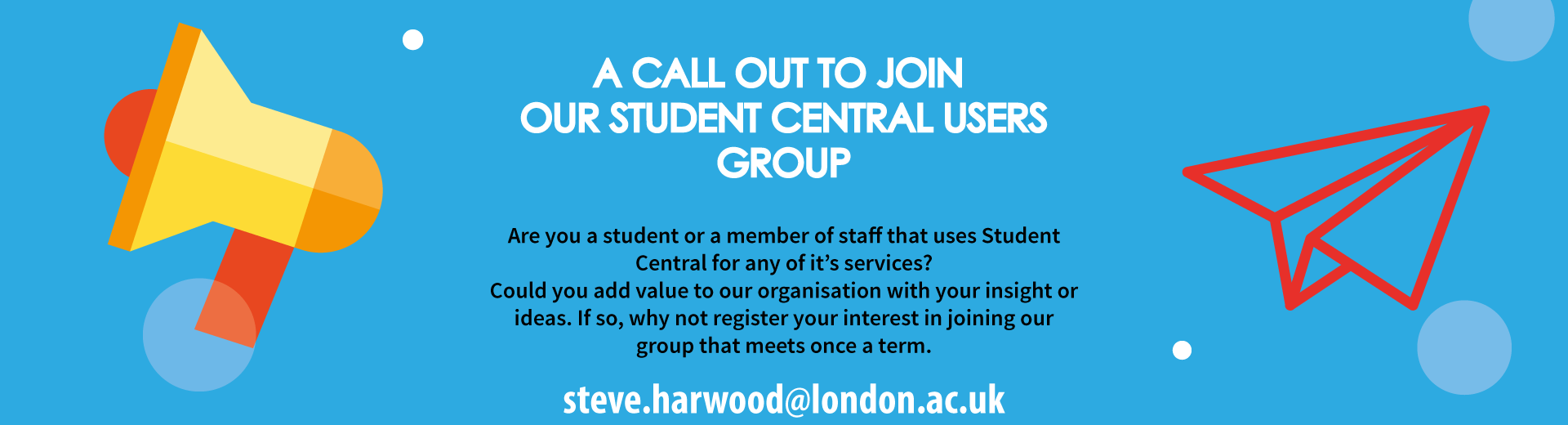 Student central user group london
