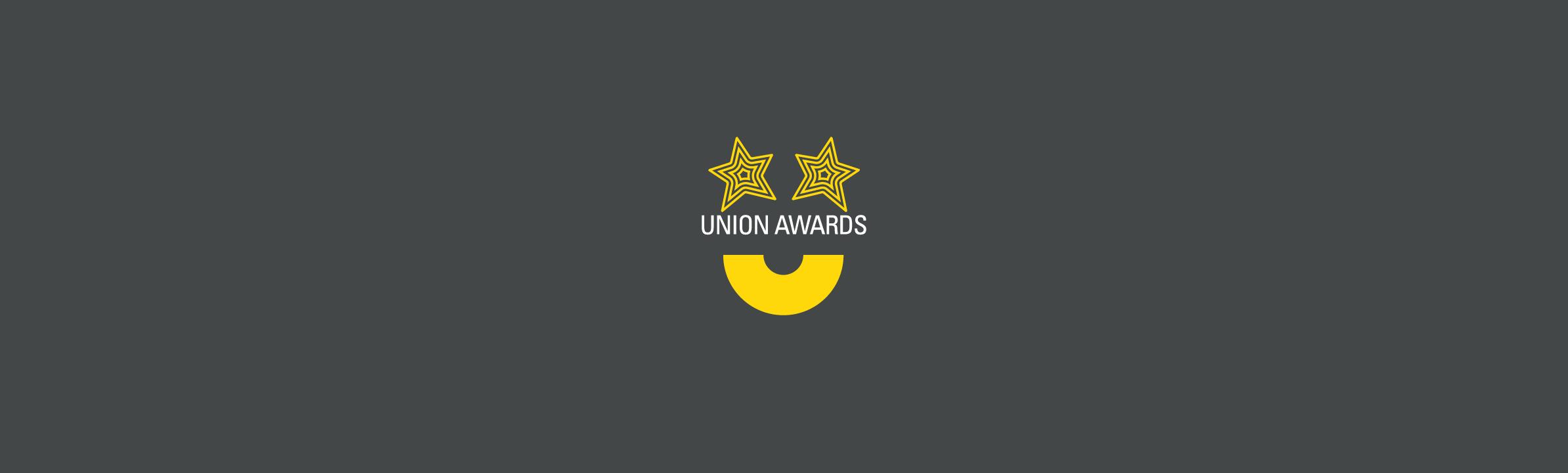 Union awards web banner