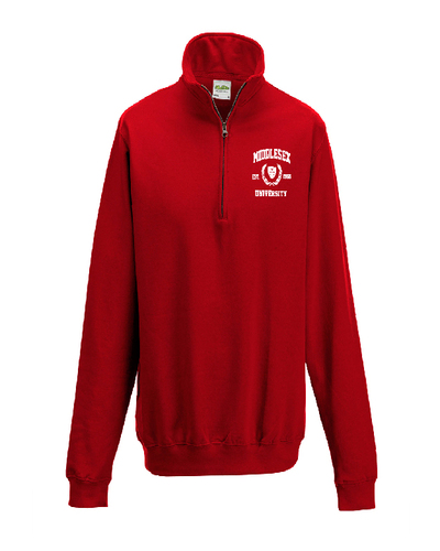 Product listing images fleece red