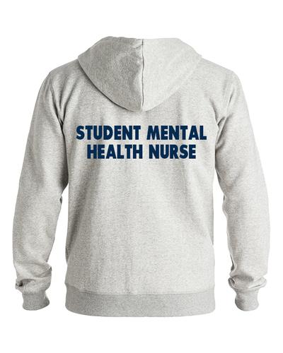 Student mental health nurse back