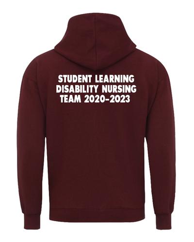 Student learning disability nursing back