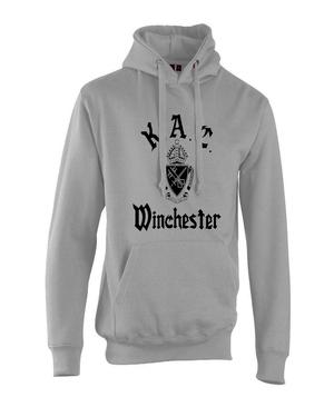 Kac hoodie grey black