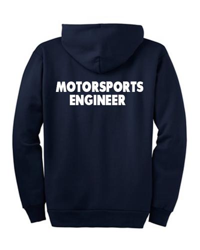 Sunderland uni motorsports engineer back
