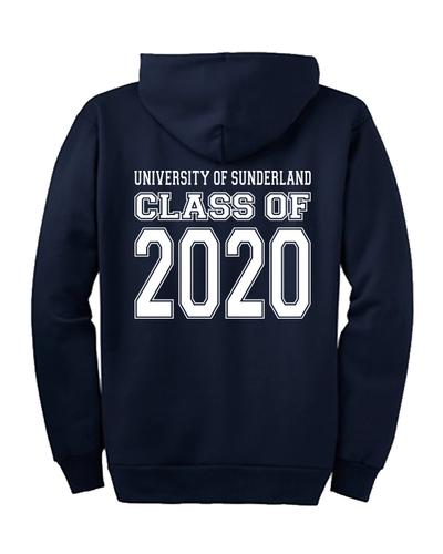 Uni of sunderland of 2020 hoody nvyback