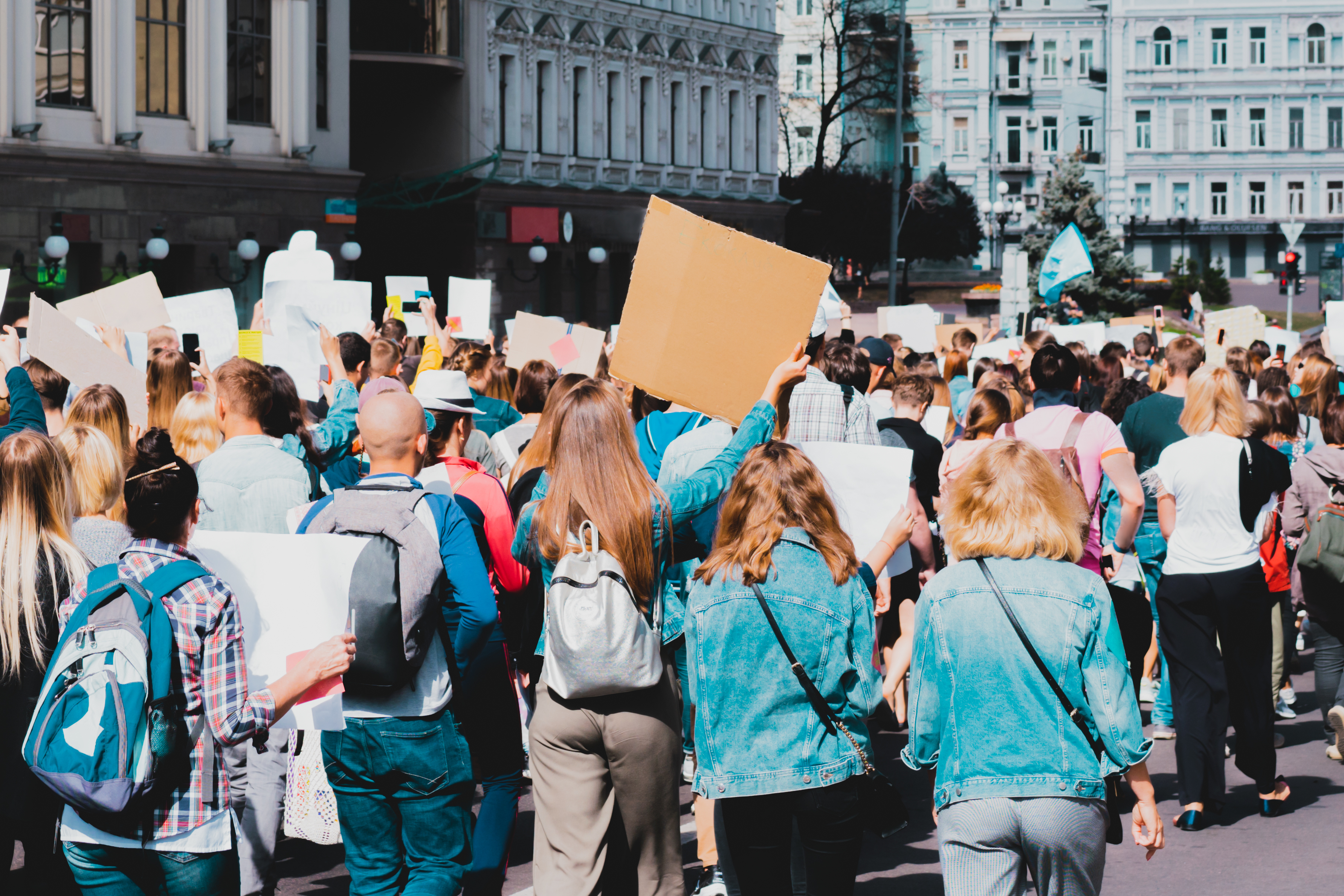 Young people marching on streets for students deserve better