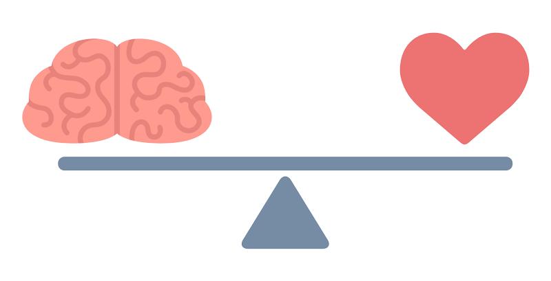 Emotional wellbeing balance